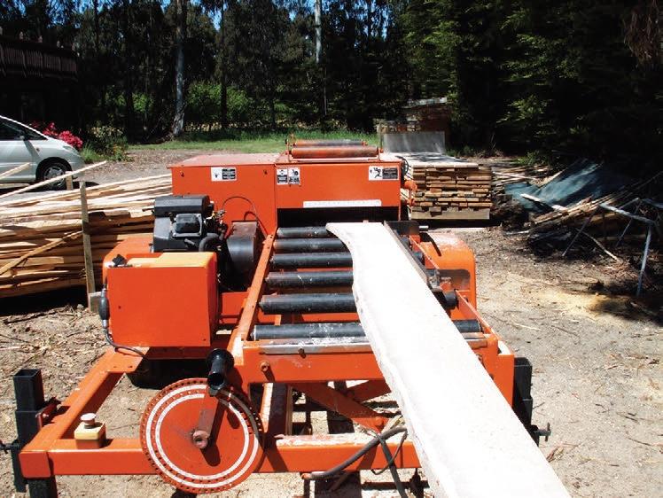 NZ Farm Forestry - Wood-Mizer for farm foresters